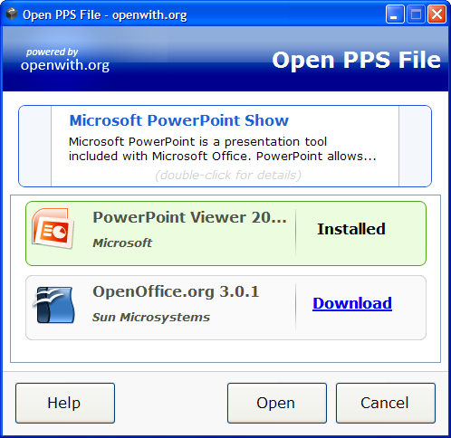 OpenWith Desktop Tool, l'outil pour Windows