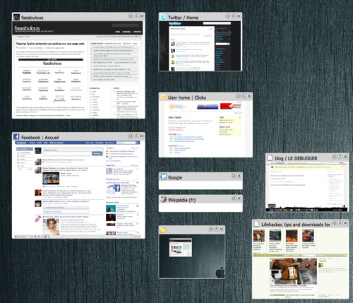 Desktop, extension pour Firefox